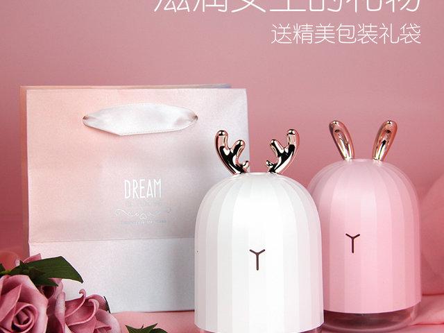 【网红小礼物】送女友贴心呵护加湿器礼物精选