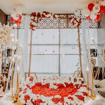 「爱的小窝」室内花房浪漫表白策划