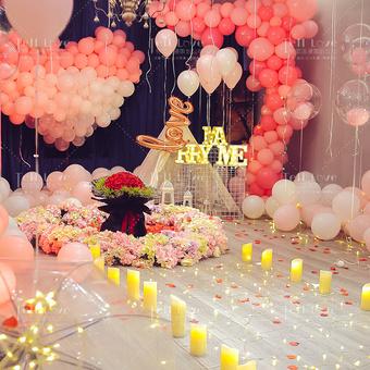 「浪漫满屋」·浪漫惊喜求婚策划